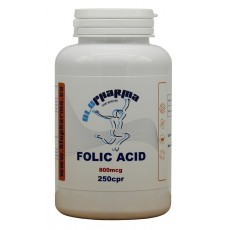 FOLIC ACID 800mcg 250cpr